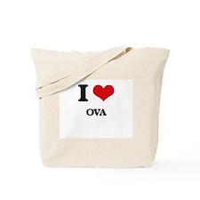 I Love Ova Tote Bag