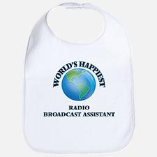 World's Happiest Radio Broadcast Assistant Bib