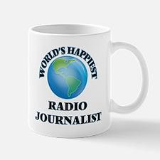 World's Happiest Radio Journalist Mugs