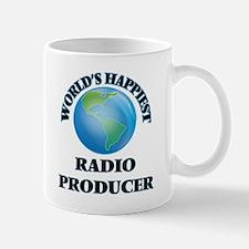 World's Happiest Radio Producer Mugs