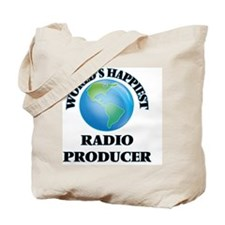 World's Happiest Radio Producer Tote Bag