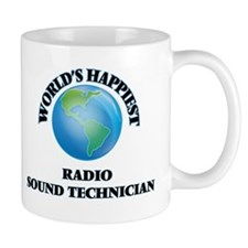 World's Happiest Radio Sound Technician Mugs
