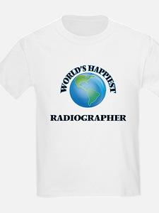 World's Happiest Radiographer T-Shirt