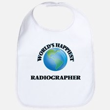 World's Happiest Radiographer Bib