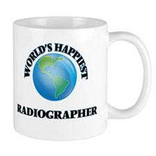 World's Happiest Radiographer Mugs