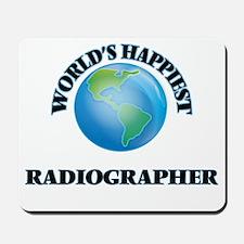 World's Happiest Radiographer Mousepad