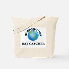 World's Happiest Rat Catcher Tote Bag