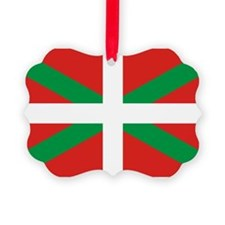 The Ikurriña, Basque flag Ornament
