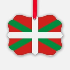 The Ikurriña, Basque flag Ornament