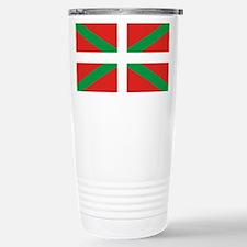 The Ikurriña, Basque fl Stainless Steel Travel Mug