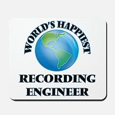 World's Happiest Recording Engineer Mousepad