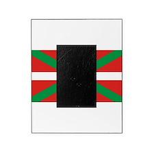 The Ikurriña, Basque flag Picture Frame