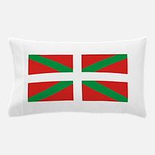 The Ikurriña, Basque flag Pillow Case