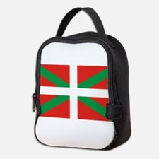 The Ikurriña, Basque flag Neoprene Lunch Bag