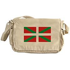The Ikurriña, Basque flag Messenger Bag
