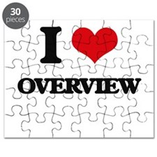 I Love Overview Puzzle