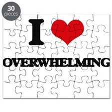 I Love Overwhelming Puzzle