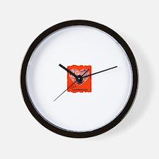 LOVE RASPBERRIES Wall Clock