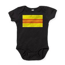 South Vietnam flag Baby Bodysuit