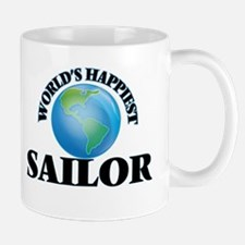 World's Happiest Sailor Mugs