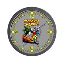 Mystery In Space Wall Clock
