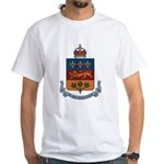 Quebec Coat of Arms White T-Shirt