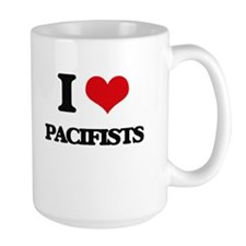 I Love Pacifists Mugs