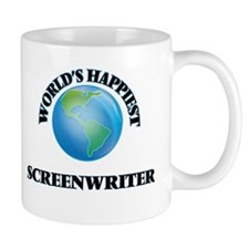 World's Happiest Screenwriter Mugs