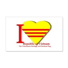 I Love The Republic Of South Wall Decal