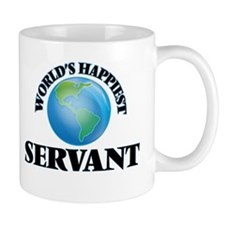 World's Happiest Servant Mugs