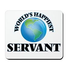 World's Happiest Servant Mousepad