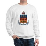 Quebec Coat of Arms Sweatshirt