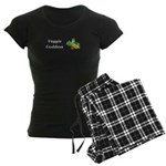 Veggie Goddess Women's Dark Pajamas