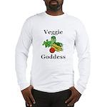 Veggie Goddess Long Sleeve T-Shirt