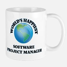 World's Happiest Software Project Manager Mugs