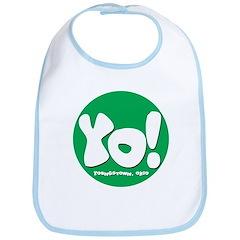 MM Green YO! Bib