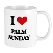 I Love Palm Sunday Mugs