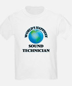 World's Happiest Sound Technician T-Shirt