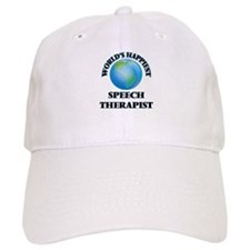 World's Happiest Speech Therapist Baseball Cap