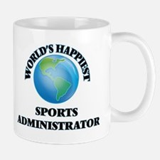 World's Happiest Sports Administrator Mugs