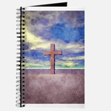 Christian Cross Landscape Journal