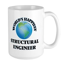 World's Happiest Structural Engineer Mugs