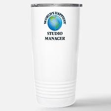 World's Happiest Studio Travel Mug