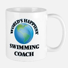 World's Happiest Swimming Coach Mugs