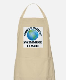 World's Happiest Swimming Coach Apron