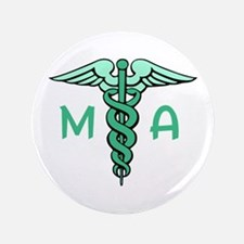 "MEDICAL ASSISTANT 3.5"" Button"