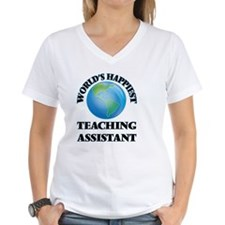 World's Happiest Teaching Assistan T-Shirt