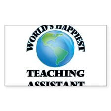 World's Happiest Teaching Assistant Decal