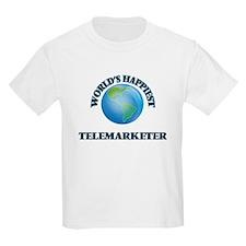 World's Happiest Telemarketer T-Shirt
