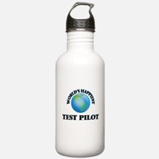 World's Happiest Test Water Bottle